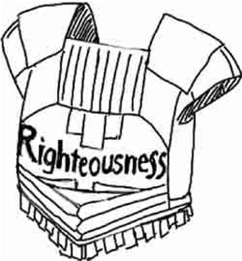 breastplate of righteousness template breastplate of righteousness coloring page search