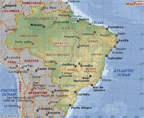 brazil city map new 2012 map of brazil cities