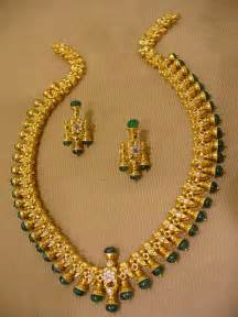 How To Make Gold Jewelry - indian jewellery and clothing antique gold necklace sets with emeralds