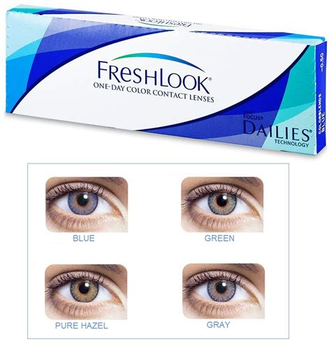 fresh look contacts colors discount price freshlook one day colors contact lenses 10