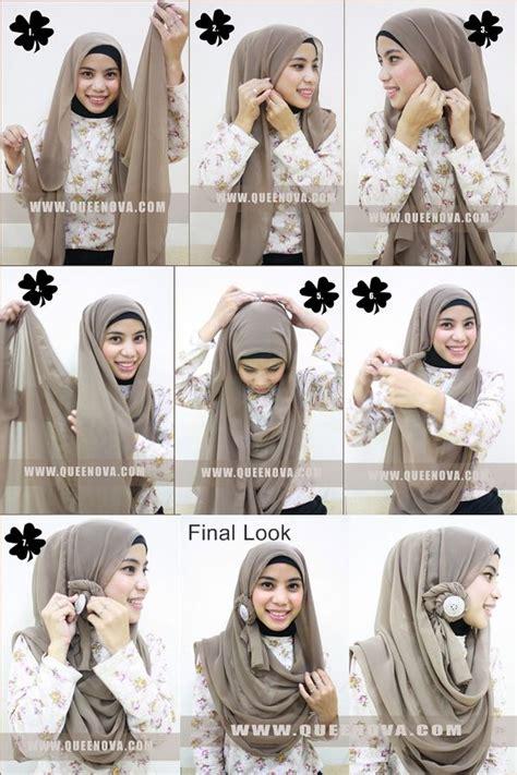 tutorial jilbab rounded shape 111 best hijab tutorial images on pinterest hijab styles