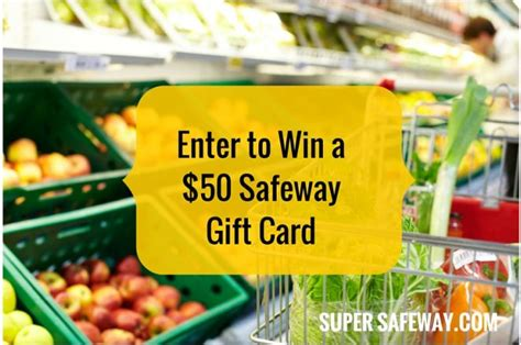 Gift Cards For Sale At Safeway - win 50 safeway gift card contest closed super safeway