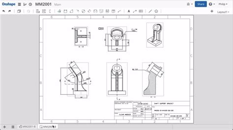 sle templates for autocad 10 things to know about onshape drafting worldcad access