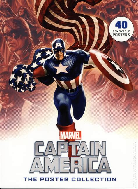 the book of captain america multilingual edition books captain america the poster collection sc 2016 insight