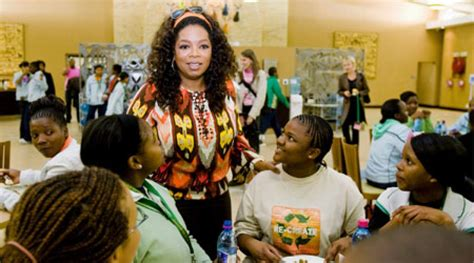 Oprah Opens Second School In Africa by Oprah Winfrey Visits Festival At South