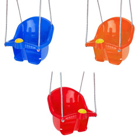 kids plastic swing childrens plastic swing seat with rope and hook outdoor