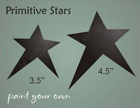 country primitive stencil 9 quot prim star scrapbook signs 25 best ideas about star stencil on pinterest