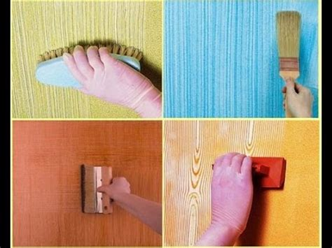 how to do wall painting designs yourself easy wall painting ideas techniques youtube
