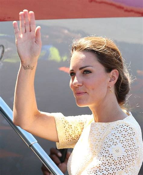 kate middleton tattoo kate middleton s crowned winner crown and