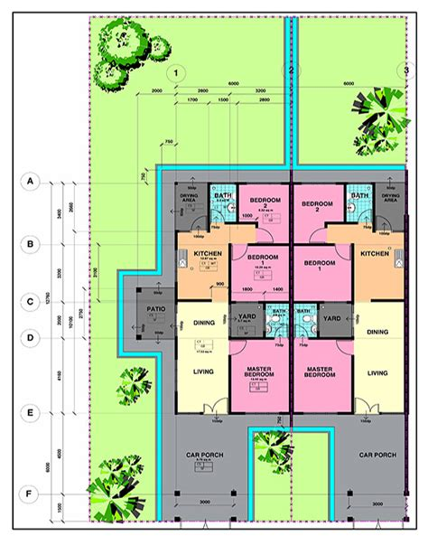 Bungalow Floor Plans vista perdana housing project in miri city spnb