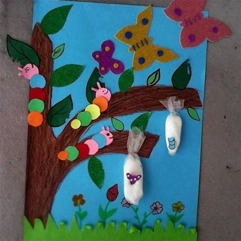 Preschool Crafts For Easy Butterfly by 25 Best Ideas About Butterfly Crafts On