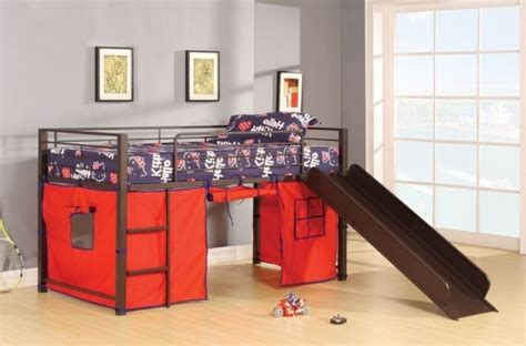 metal loft bed with slide metal loft bed with slide picture 33 bed headboards