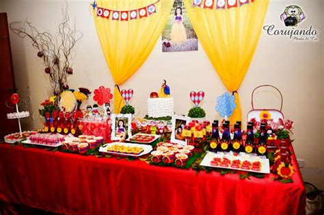Snow Themed Decorations by Kara S Ideas Snow White Themed Birthday With