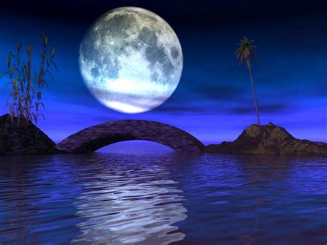wallpaper abyss earth bridge under the moon wallpaper and background image