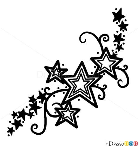 how to draw an easy tattoo how to draws pinterest how to draw stars tattoo 1 tattoo designs