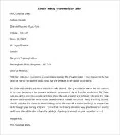 Letters Of Recommendation Templates by 21 Recommendation Letter Templates Free Sle Exle