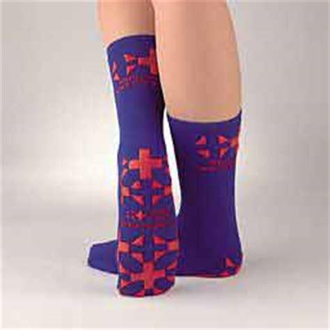 Pillow Paws Non Slip Socks by Med Treds Pillow Paw Non Slip Socks Teal 171 Mart
