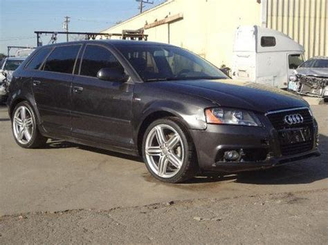 Crashed Audi A3 Find Used 2011 Audi A3 2 0 Tdi S Tronic Damaged Salvage