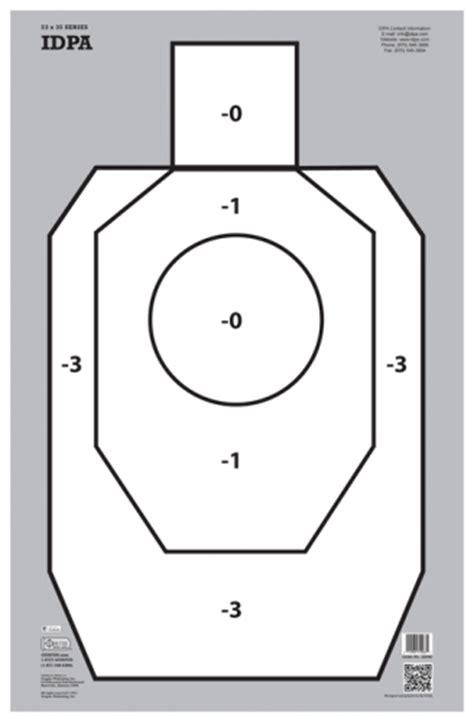 printable mini idpa targets idpa 22040 gunfun shooting targets