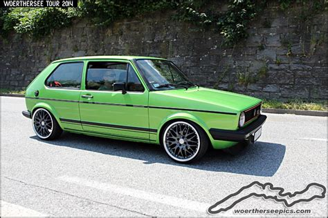 green volkswagen golf green vw golf mk1 mk1 golf and volkswagen