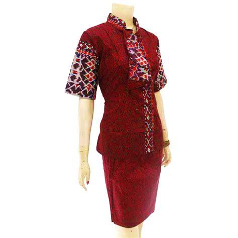 Terbaru Setelan Blouse Dan Rok Lebar Muslim Wanita Adiba Set Maxy Anti baju dan busana muslim wanita dress batik merah