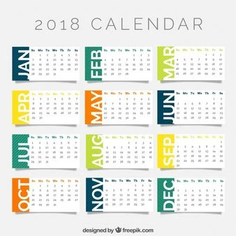 Business Card Calendar Template 2018 by Calendar Vectors Photos And Psd Files Free