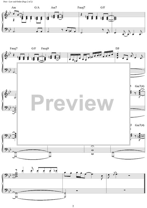 theme music law and order law and order sheet music music for piano and more