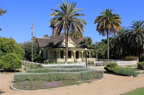 Fullerton Botanical Gardens Heritage House And Museum At The Fullerton Arboretum And Botanic Garden O C Pinterest