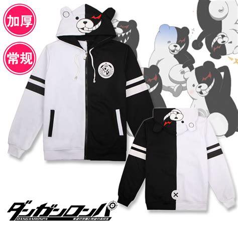 anime hoodies anime danganronpa sweatshirt hoodie monokuma