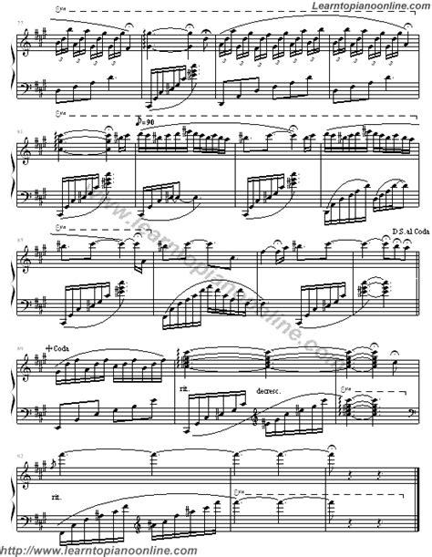 tutorial piano yanni until the last moment until the last moment yanni 5 free piano sheet music