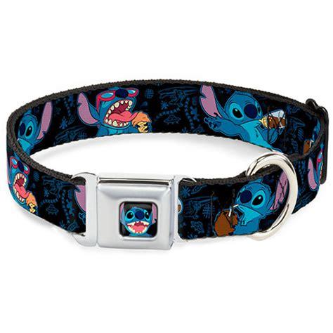 disney collar your wdw store disney designer pet collar lilo stitch snack time stitch
