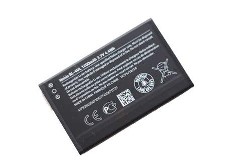 Baterai Nokia Asha 225 Bl 4ul Bl4ul Original Batre Battery Batere Jual Beli Nokia Bl 4ul Original Battery For Nokia Lumia