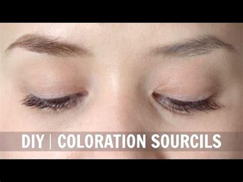 diy coloration sourcils naturelle alyssia