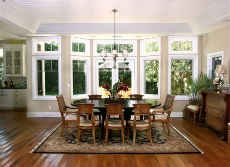 Newport Beach Plantation Style Traditional Dining Room orange county by GRADY O GRADY