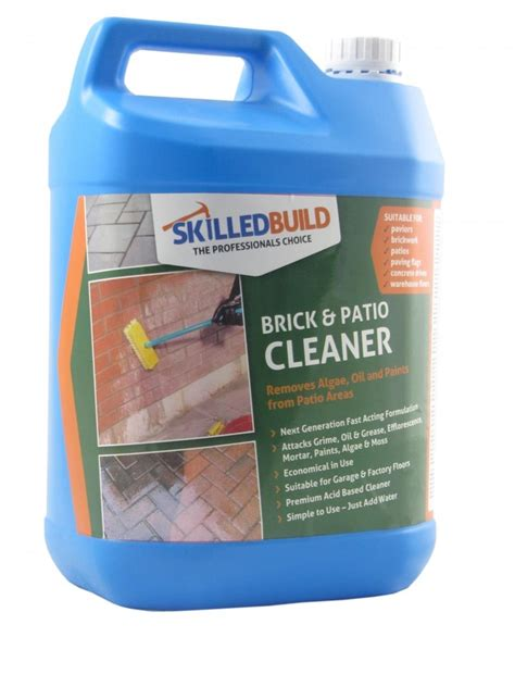 cleaning brick patio brick and patio cleaner general cleaning cleaningfix