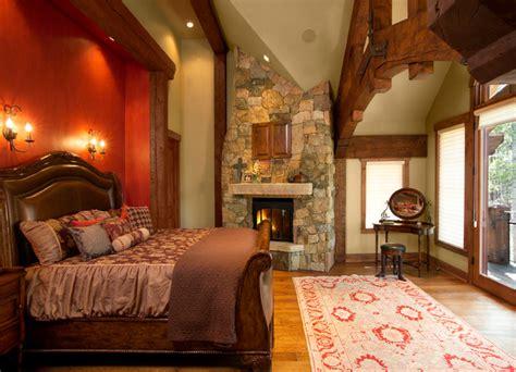 frame bedroom timber frame home rustic bedroom by sitka log homes