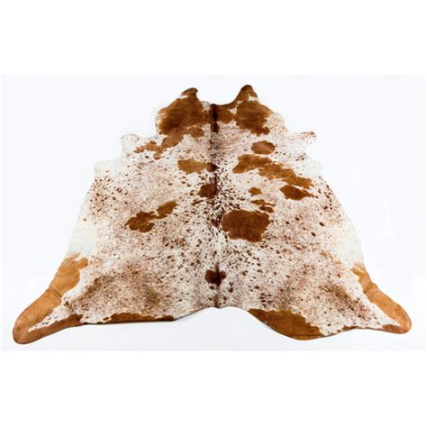 Cowhide Rugs Sydney - all hides and sheepskins brown speckled
