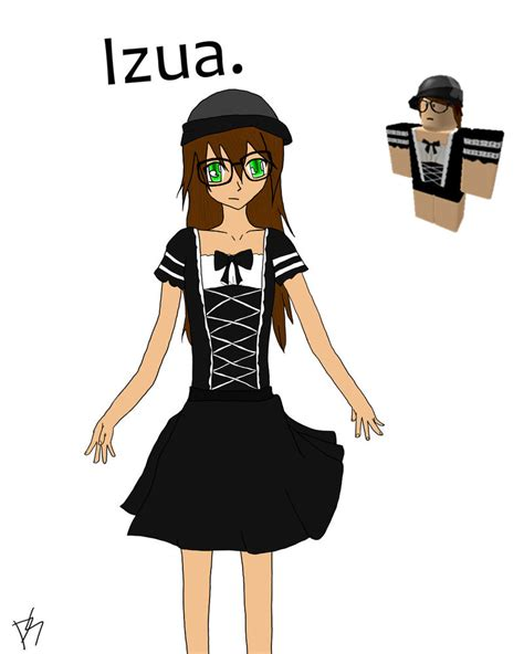Sketches Roblox Character by Izua S Roblox Character By 89parky On Deviantart