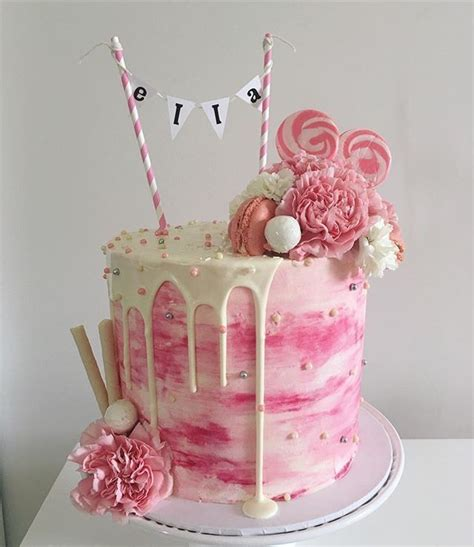 girl themes for cakes birthday cake decorations for girls 1000 ideas about girl