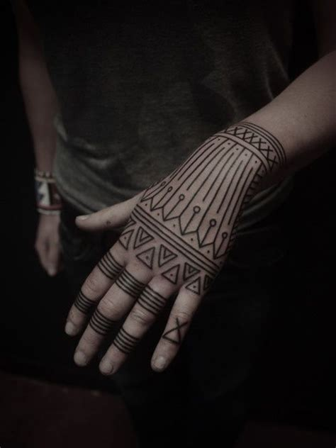 hand tattoos tribal 101 awesome tattoos that will inspire you to get inked