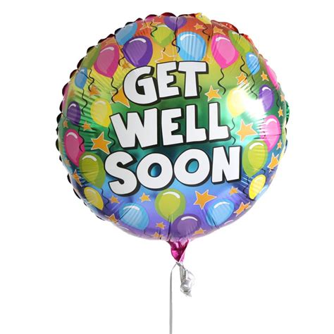 average rating for get well soon balloon is 5 out of 5