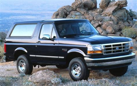 maintenance schedule for 1994 ford bronco openbay