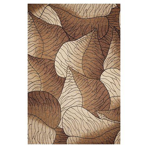 Outdoor Woven Rug by Shop Kas Rugs Serenity Brown Rectangular Indoor Outdoor