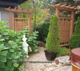 outdoor privacy trellis privacy trellis these would be to disguise the