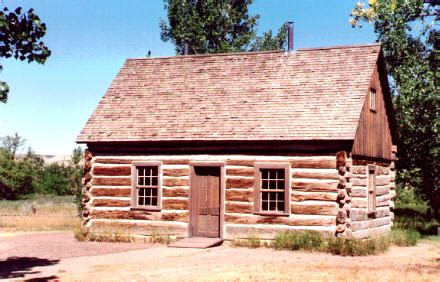Maltese Cross Cabin by Theodore Roosevelt National Park
