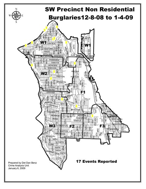 seattle map of crime west seattle west seattle crime maps of