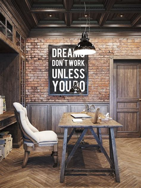 rustic industrial home with a very particular design 25 awesome rustic home office designs office designs