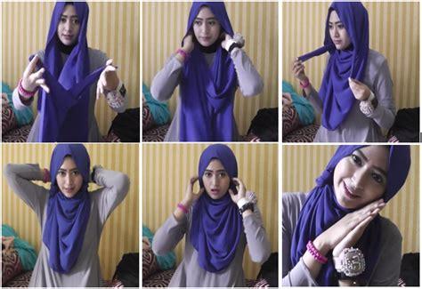 tutorial jilbab natasha farani attamimi video cara memakai jilbab paris ala natasha farani