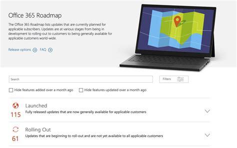 Office 365 Roadmap by Microsoft Spustil Nov 253 Preh箴ad Pripravovan 253 Ch Noviniek Pre