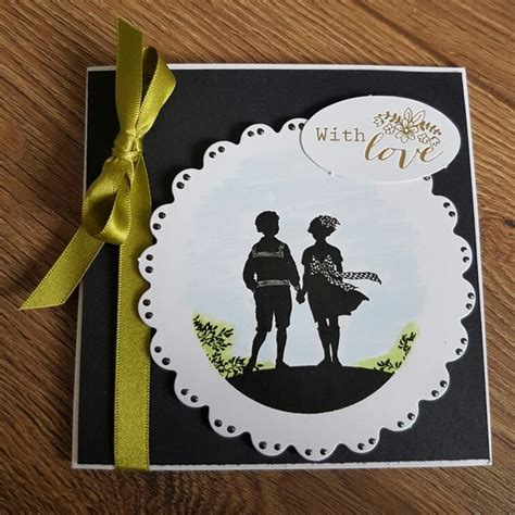 Handmade Card Toppers - 21 best images about silhoutte circle toppers on